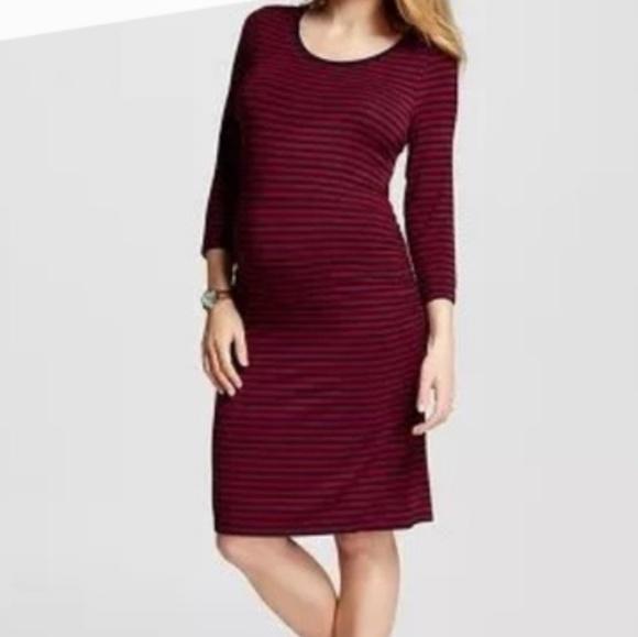 f27cbeb28354b New Liz Lange Maternity dress stretch knee cute. NWT. Liz Lange for Target